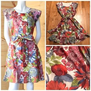 Anthropologie Raffine Floral Dress